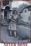 Mother Mows the Homefront