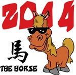Funny 2014 Year of The Horse T-Shirts Gifts