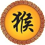 Chinese Zodiac Monkey Symbol T-Shirts Gifts