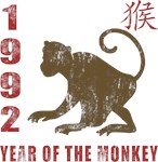 1992 Year of The Monkey T-Shirts & Gifts