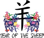 Chinese Zodiac Sign Sheep T-Shirts