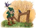 Scarecrow vs. Crows