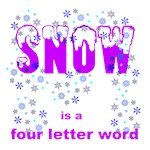 snow - four letter word