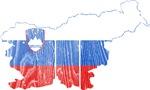 Slovenia Flag And Map