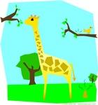 Giraffe Make Poopie!