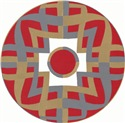 Medallion Mandala (Red)