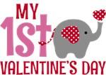 Elephant Girl's 1st Valentine's Day