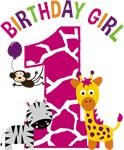Girl Jungle 1st Birthday