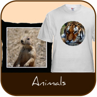 Animal T Shirts and Gifts