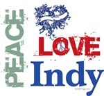 Peace Love Indy