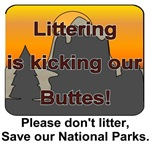 Littering kicks our buttes!