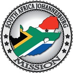 Africa LDS Missions Flag Cutout Map