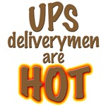 UPS delivery men hot, unique t-shirts & gifts