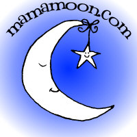 MamaMoon.com logo merchandise