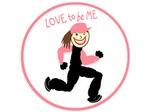 RUNNER GIRL - LOVE TO BE ME