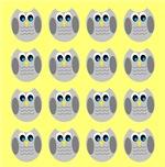 Owls (Yellow)