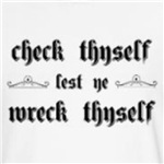 Check Thyself