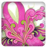 Retro Breast Cancer Pink Ribbon