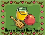 Sweet New Year Rosh Hashanah Cards