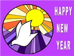 Peace Jewish New Year Cards