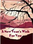 New Year's Wish Rosh Hashanah Card