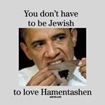Obama Loves Hamentashen