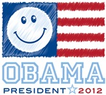 Obama Smiles 2012