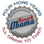 Obama Bottle Cap