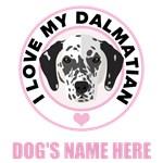 Personalized Dalmatian T-Shirts