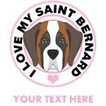 Personalized Saint Bernard T-Shirts
