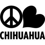 Peace Love Chihuahua