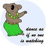 Dancing Koala