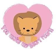 Valentine Lion