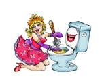 Cleaning Lady - Toilet