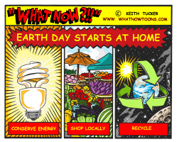 Earth Day starts at home