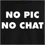No Pic No Chat