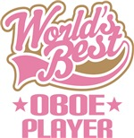 World's Best Oboe Player Music Gifts