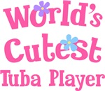 Worlds Cutest Tuba Player T-shirt Gifts