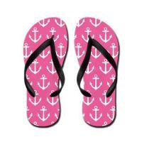 Anchor Flip Flops