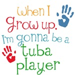 Future Tuba Player Kids Music Tees