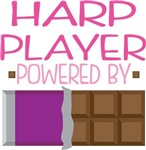 HARP PLAYER powered by chocolate