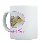 French Horn Music Mugs