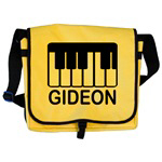 Personalized Piano Music Tote Bags