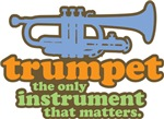 Retro Trumpet Attitude Tees and Gifts