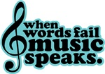 Popular Music Quote T-shirts