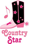Country Star Music T-shirts