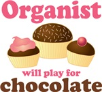 Chocolate Organist T-shirt Gifts