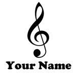 PERSONALIZED MUSIC GIFTS AND SHIRTS