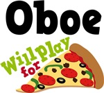 Oboe Will Play For Pizza T shirts