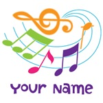 Personalized Music Design Gifts and Stocking Stuff